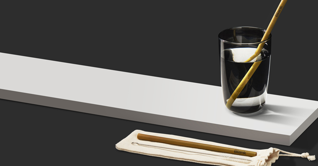 Bamboo Straw by Blank