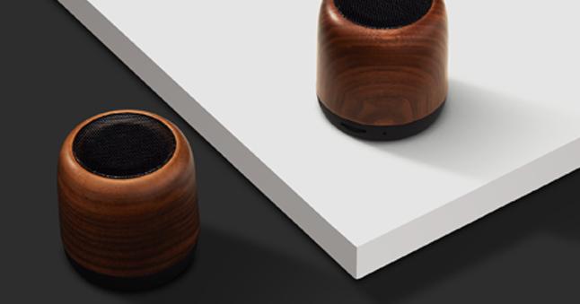 Bluetooth speakers branded by Blank